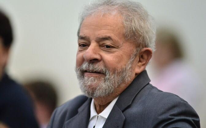 Brasiilia ekspresident Luiz Inacio Lula da Silva.