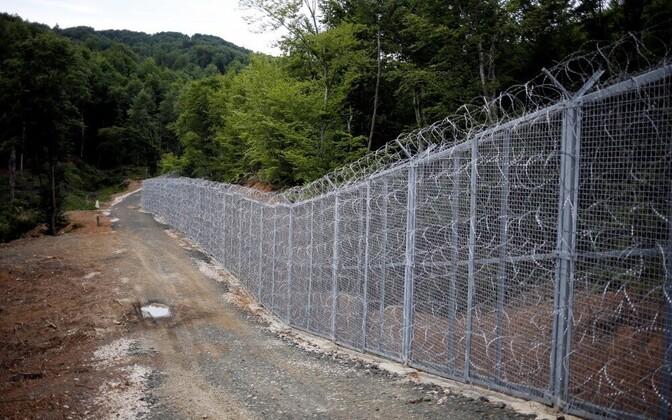 Болгаро-турецкая граница.