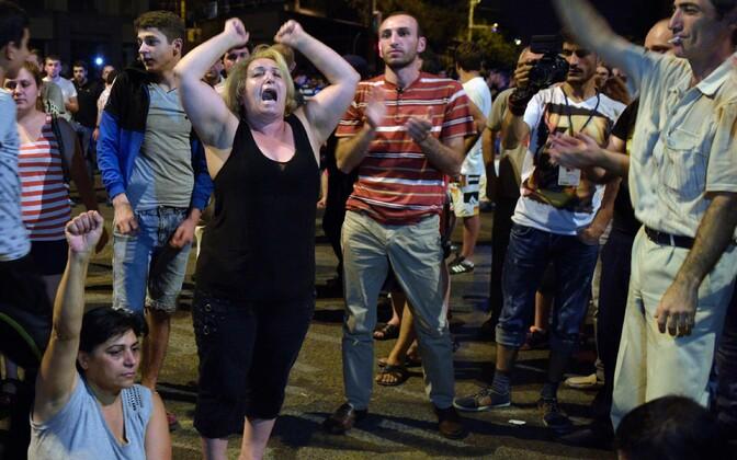Protest Jerevanis.