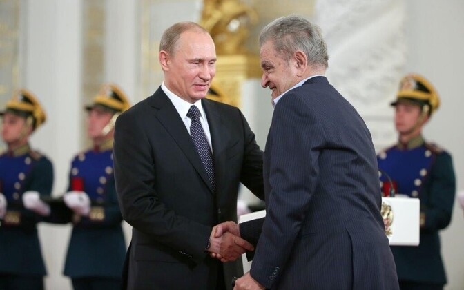 Vladimir Putin ja Fazil Iskander
