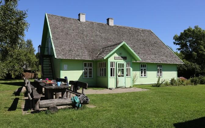 Palupõhja Nature School in Palupõhja village, Puhja Parish, Tartu County.