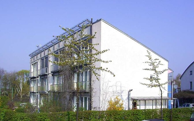 Esimene passiivmaja Saksamaal Darmstadtis Kranichsteini linnaosas.