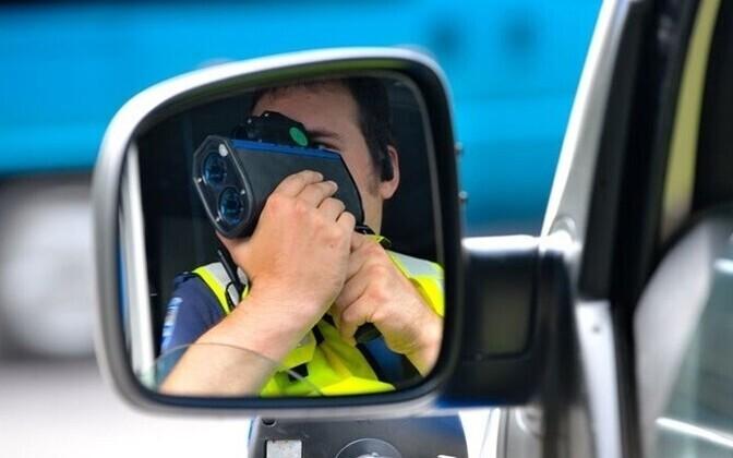 Превышение скорости является одним из самых распространенных нарушений на дорогах Эстонии.