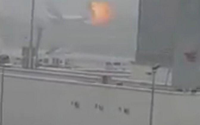 Plahvatus Dubai lennuväljal.