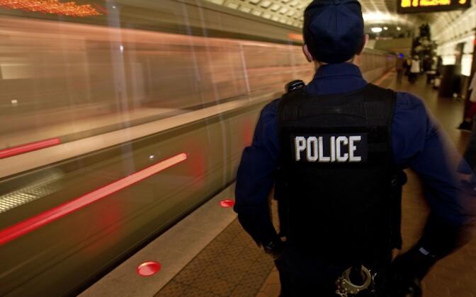 Washington D.C. metroopolitseinik, foto on illustratiivne.