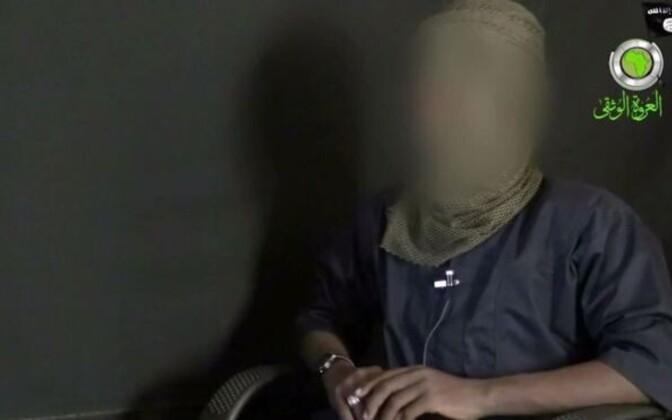 Abu Musab al-Barnawi 2015. aasta videos rühmituse