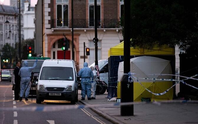 Sündmuskoht Londonis.