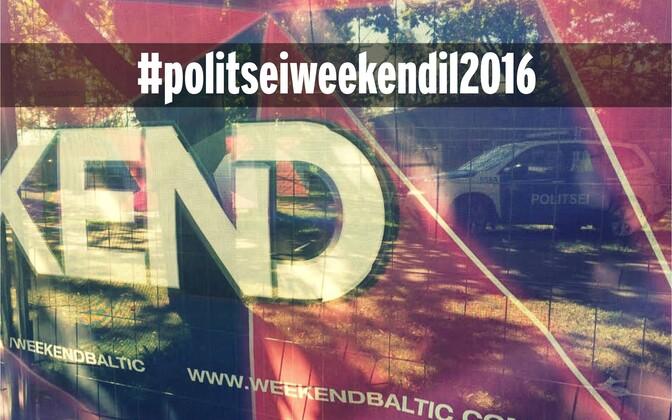 Politsei valmistub Weekend festivaliks