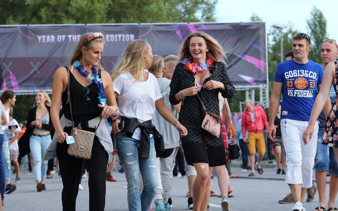 Первый день фестиваля Weekend в Пярну.