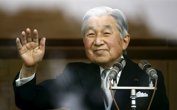 Jaapani keiser Akihito.