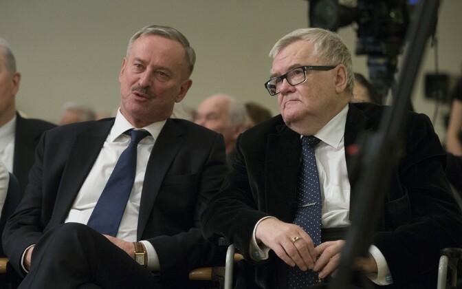 Kallas ja Savisaar käesoleva aasta märtsis.