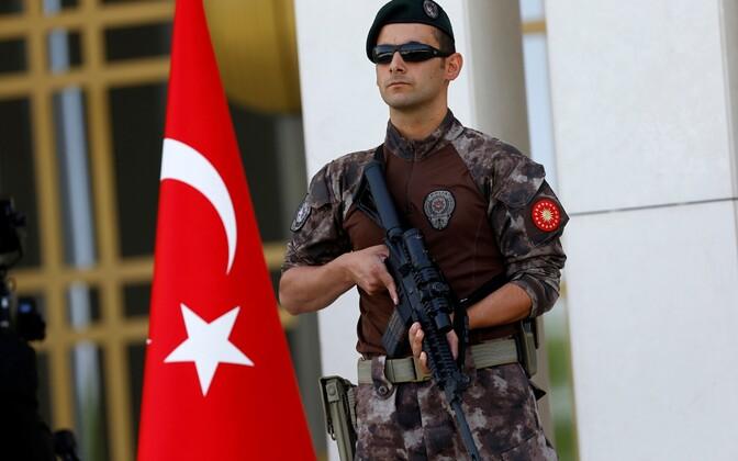 Türgi politsei eriüksuslane.