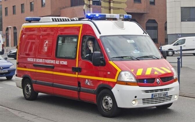 Prantsusmaa kiirabi.