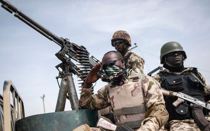 Nigeeria armee sõdurid Borno osariigis Damboas.