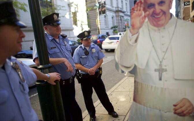 Politseinikud Pennsylvanias. Illustreeriv foto.