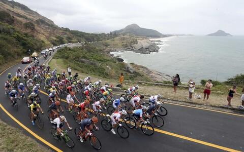 Rio OM-i jalgratta maanteesõidu naiste grupisõit