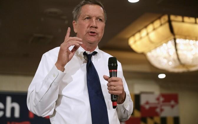 John Kasich käesoleva aasta aprillis kampaaniaüritusel Marylandis.