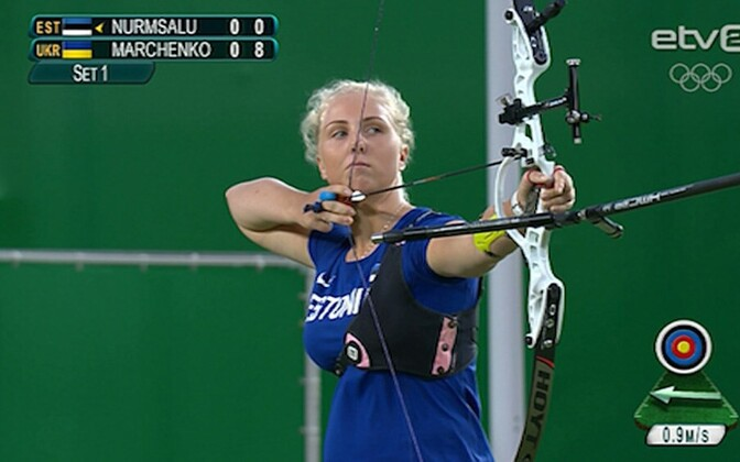 Archer Laura Nurmsalu placed 33rd overall in her Olympic debut in Rio.