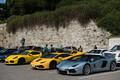 Luksusautode omanikud, kellele peaminister Taavi Rõivas Stenbocki majas ekskursiooni tegi jätsid oma sõidukid Vabaduse väljaku kõrvale parklasse.