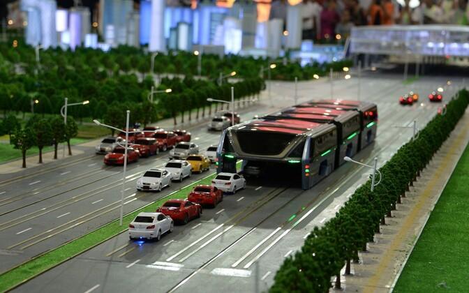 20. mail Pekingis esitletud hiidbussi mudel.