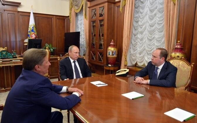 Песков поведал опредвыборном штабе В. Путина