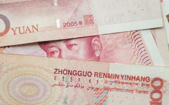 Hiina Rahvavabariigi jüaanid.