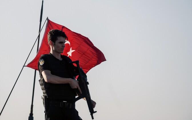 Türgi politseinik.
