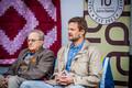 Dr Adik Levin ja dr Rene Bürkland arvamusfestivalil.