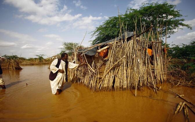 Üleujutus Sudaanis.