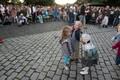 В понедельник вечером на горке Харью в Таллинне эстонские музыкальные группы исполняли песни легендарного Виктора Цоя.
