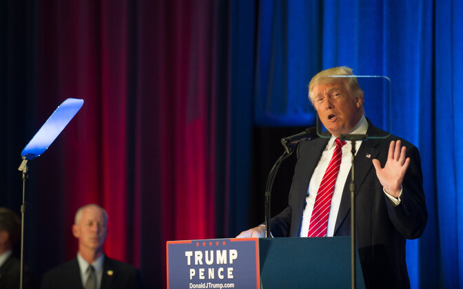 Vabariiklaste presidendikandidaat Donald Trump kampaaniaüritusel Youngstown State University's Ohios.