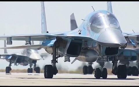 Истребители-бомбардировщики Су-34. Иллюстративная фотография.