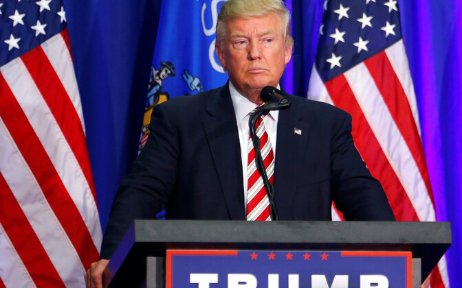 Donald Trump kampaaniaüritusel Wisconsinis.