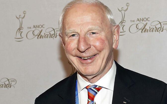 Euroopa Olümpiakomiteede juht Patrick Joseph Hickey.