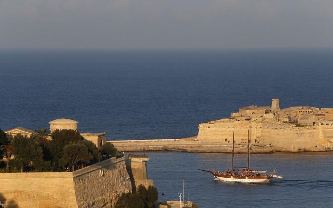 Valletta sadam.