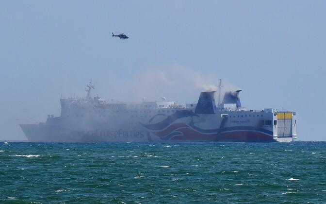 Põleng kruiisilaeval Caribbean Fantasy 17. augustil.