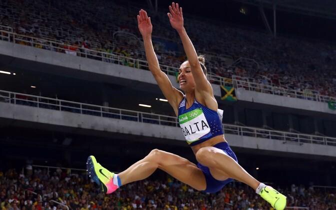 Kaugushüppaja Ksenija Balta saavutas Rio olümpiamängudel kuuenda koha
