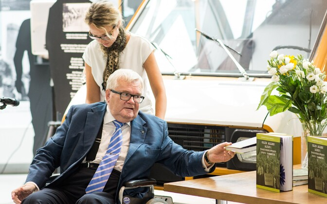 On trial for corruption and potentially soon the Center Party's front runner in Tallinn's local elections: Edgar Savisaar.