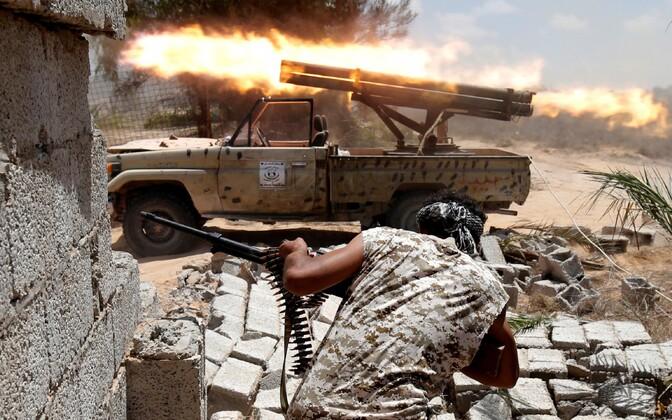Liibüa relvajõud.