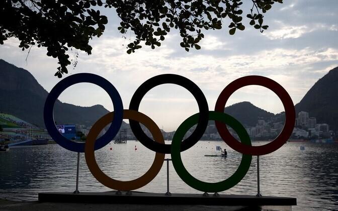 Rio de Janeiro olümpiarõngad