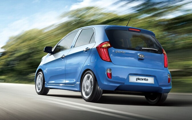 Kia Picanto. Foto on illustreeriv.