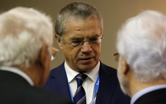 Gazpromi asejuht Aleksandr Medvedev.