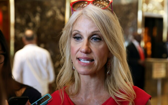 Donald Trumpi uus kampaaniamänedžer Kellyanne Conway.