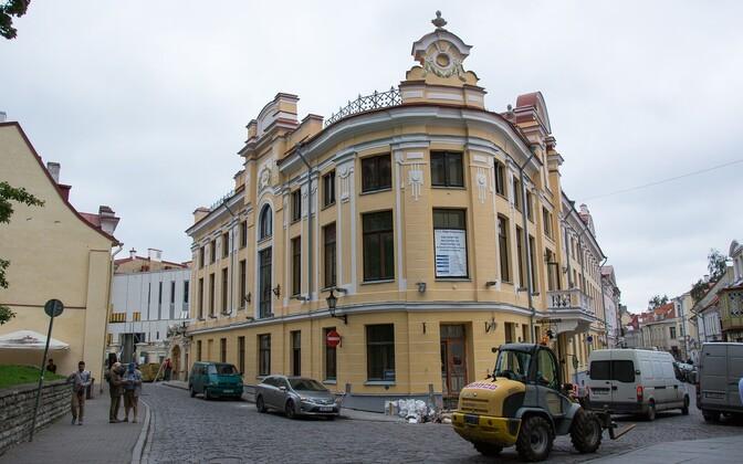 Nukuteatri hoone Tallinnas Laial tänaval.