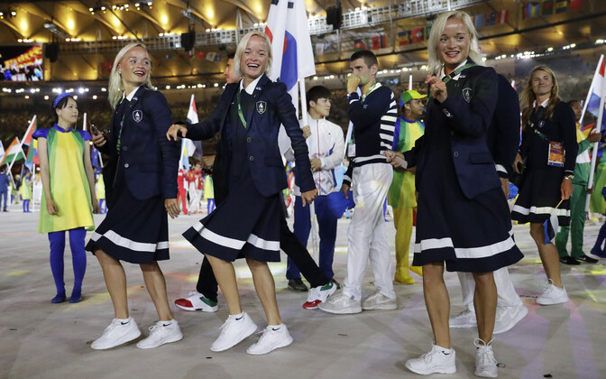 Õed Luiged olümpiamängude lõputseremoonial