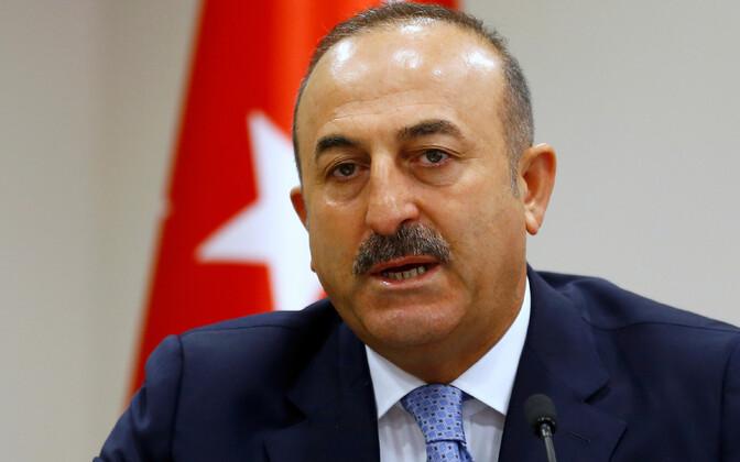Türgi välisminister Mevlüt Çavuşoğlu.