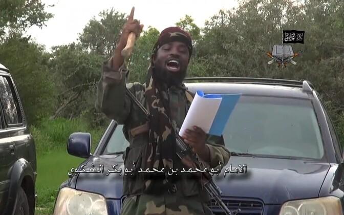 Abubakar Shekau Boko Harami propagandavideos 2014. aastal.