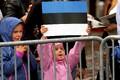 Rio de Janeiro olümpiakoondislaste vastuvõtt Raekoja platsil