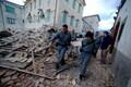 Maavärina tekitatud purustused Kesk-Itaalias.