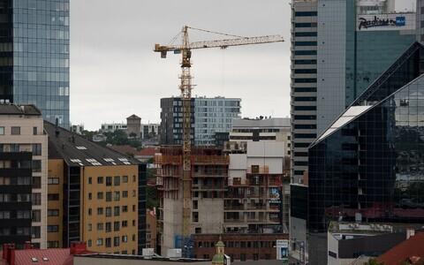 Maakri kvartali ehitustegevus Tallinnas.